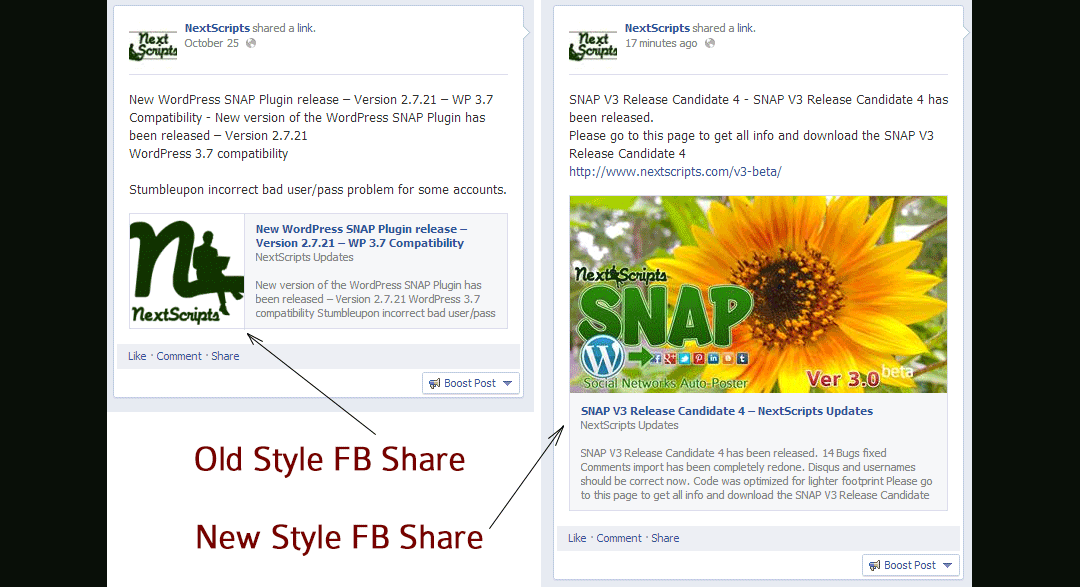 Facebook new [bigger] shared link thumbnail images - NextScripts