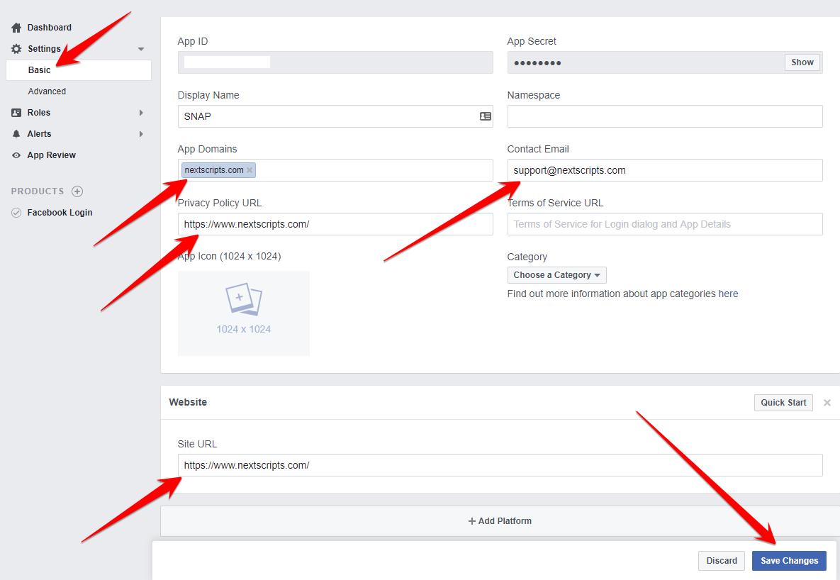 Setup/Installation: Facebook - Social Networks Auto-Poster - NextScripts